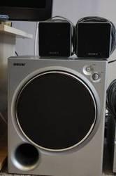 Sony Surround Sound System,  100$- 6 spkr,  subwoofer,  receiver