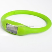 Silicone Minus Ion Sports Wrist Bracelet Silicon Watch
