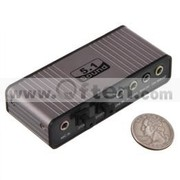 USB2.0 to 5.1Channel USB 12M Serial Data Transmission Audio Adapter