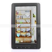 Free Shipping:4GB 7 Inch Color Screen FM E-Book Reader MP3 MP4 Player