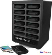 Portable Battery Dock 12