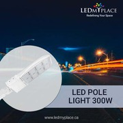 Purchase 5700K 300W LED Pole Light at Discounted Price