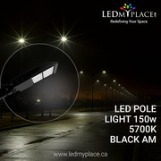 Use Photocell Featured 150W LED Pole Lights at Parkways