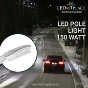 Get Maximum Brightness by using 150W LED Pole Light