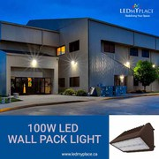Secure Your Outdoor by Using 100W LED Wall Pack Light