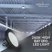 Buy 240w High Bay UFO LED Lights For Maximum Operational Efficiency